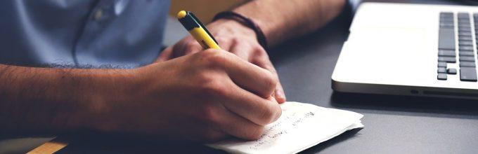 het schrijven van businessplan