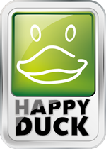 Logo Autowasplein Happy Duck Duivendrecht